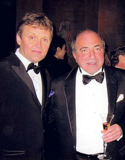 Александр Литвиненко и Борис Березовский