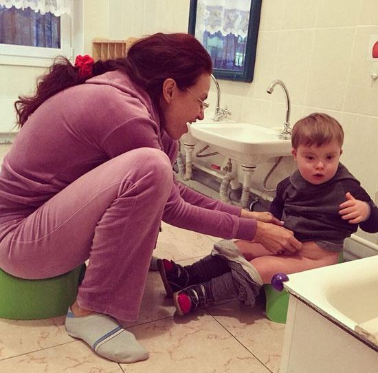 Новости: Эвелина Бледанс рассказала о том, как ее сын пошел в детский сад – фото №6