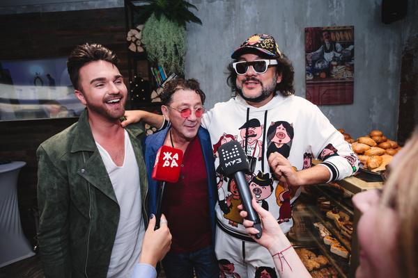 Александр Панайотов, Григорий Лепс и Филипп Киркоров