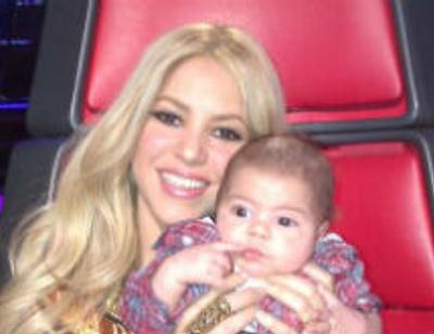 Шакира взяла двухмесячного сына на работу