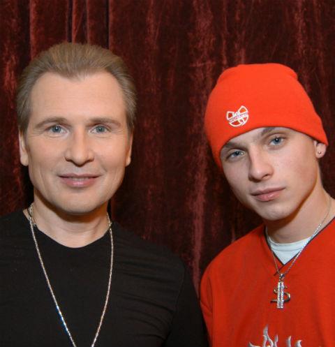 Александр Малинин с сыном Никитой