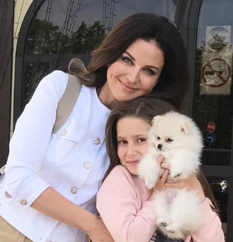 Наталия Власова с дочерью Пелагеей