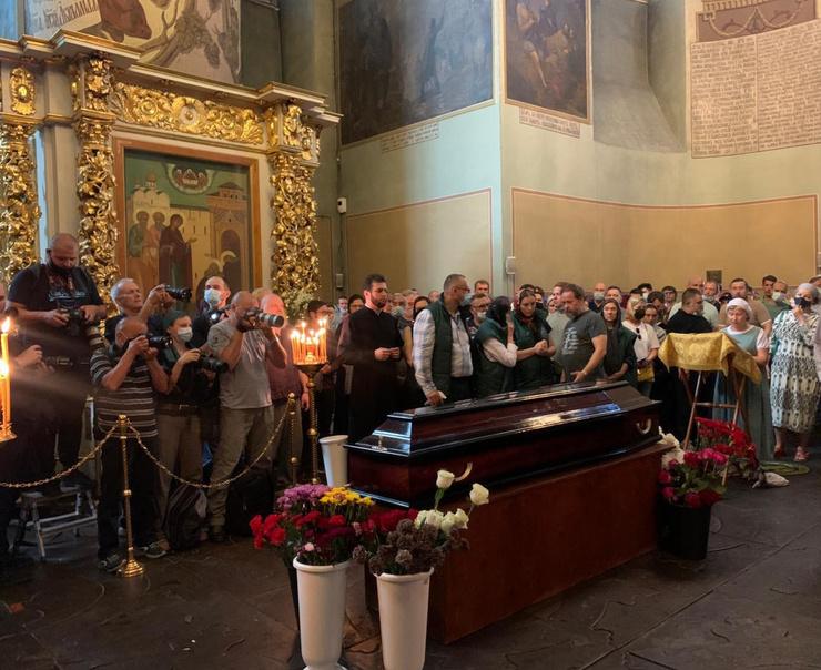 Прощание с музыкантом прошло в Донском монастыре