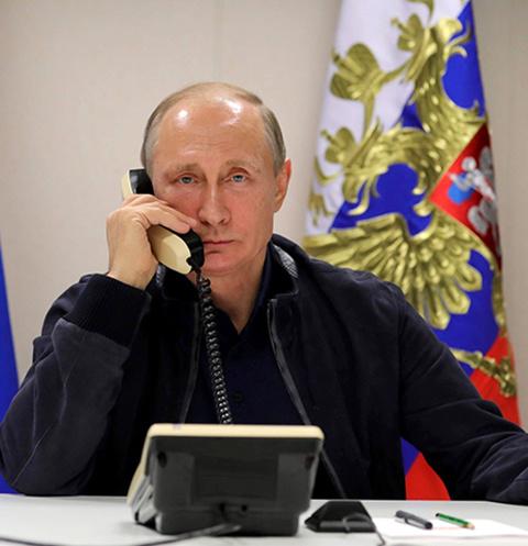 Владимир Путин: «Внуки дозваниваются мне в Кремль»