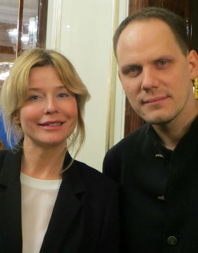 Татьяна Арно и Антон Желнов