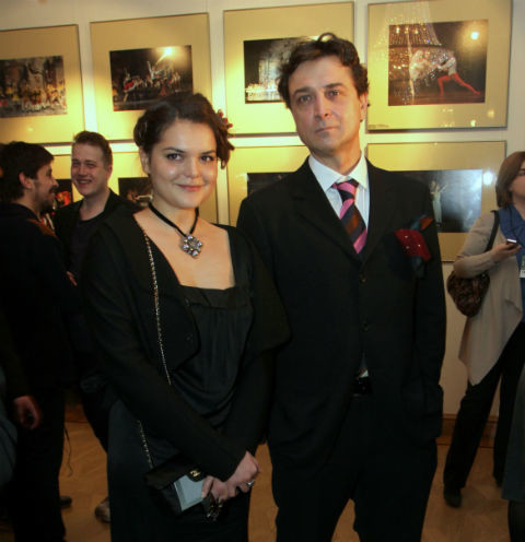 Александр Лазарев-младший с дочерью