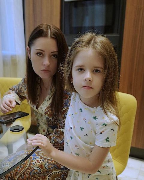 Мария Кравченко с дочерью