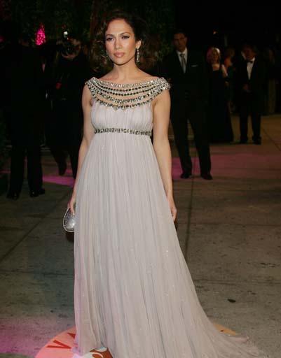 Один из лучших выходов Джей Ло на «Оскаре» был в 2007 году