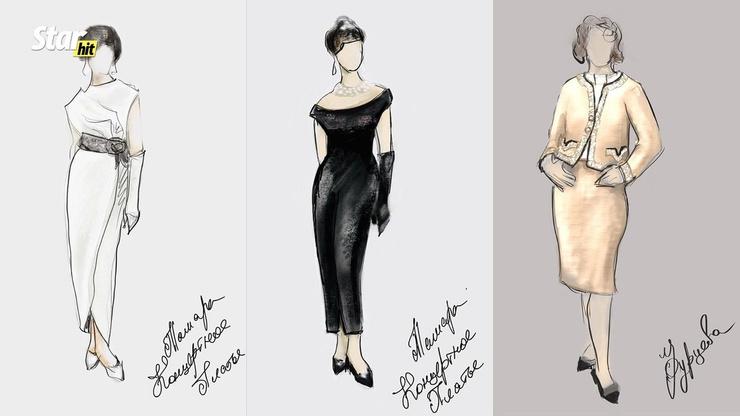Платья для Ирины Антоненко шили на заказ