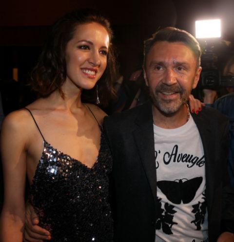 Матильда с бывшим мужем Сергеем Шнуровым