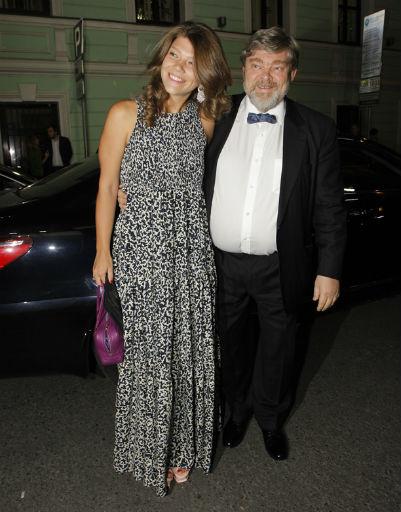 Константин Ремчуков с дочерью Варварой