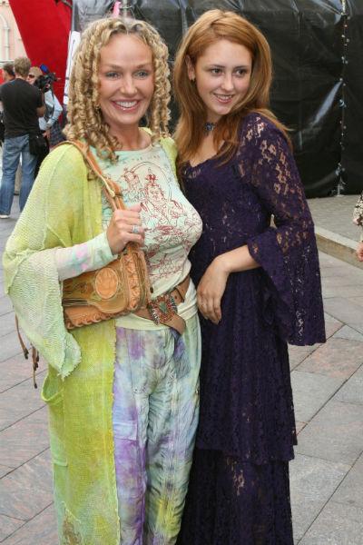 Актриса с дочерью Настасьей