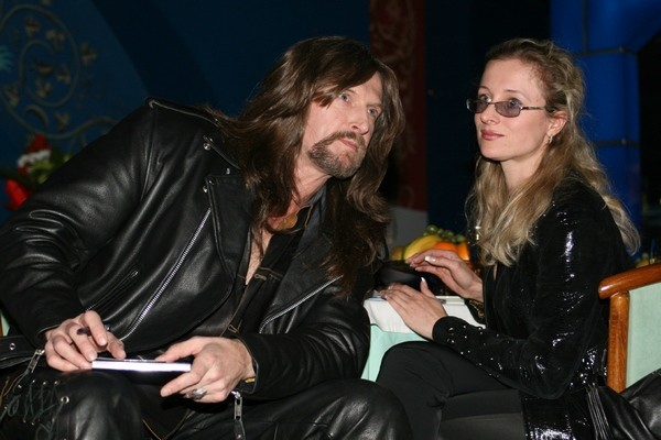 Никита Джигурда с бывшей женой Яной Павелковской
