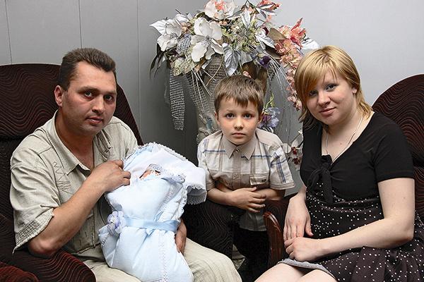 У пары двое сыновей – Алексей и Михаил
