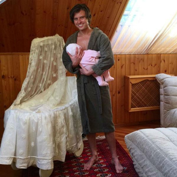 Прохор Шаляпин ранее публиковал фото с сыном, но не показывал его лица
