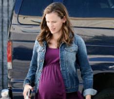 Дженнифер Гарнер подделала беременность