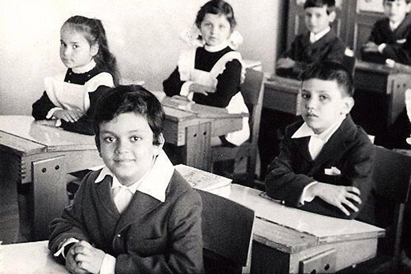Из школьных предметов Киркорову тяжело давалась только математика, 1975 год