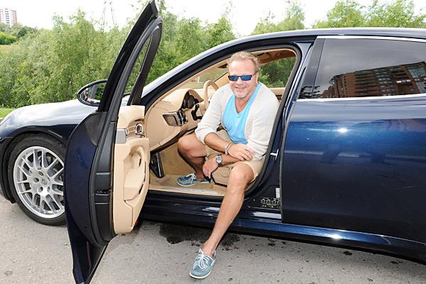 Новости: Владимир Пресняков ездит на машине стоимостью 8 миллионов рублей – фото №2