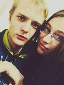 Сергей Зверев-младшей с бывшей женой Марией Бикмаевой