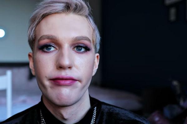 Так макияж от мастеров Гоар выглядел спустя полчаса после посещения салона