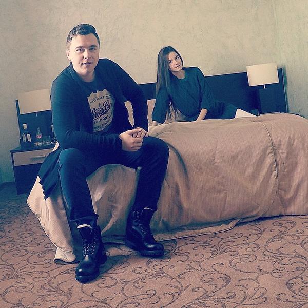 Сергей и Анастасия были вместе около четырех лет