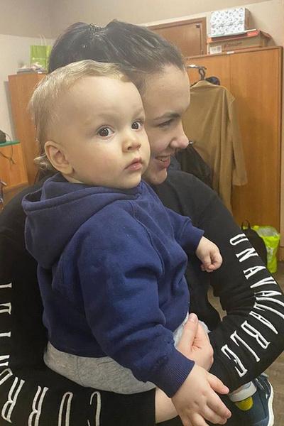 Недавно у Юлии и Андрея родился внук
