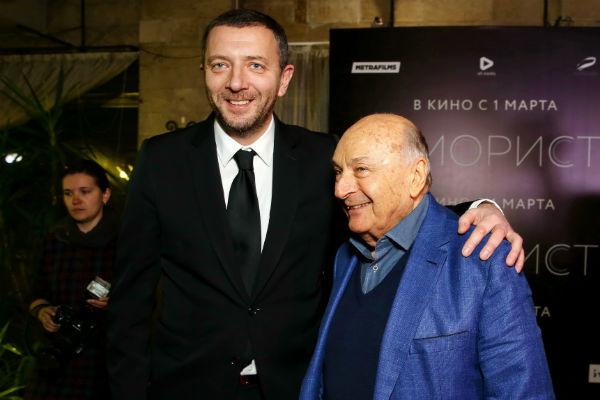 Михаил Жванецкий и Алексей Агранович
