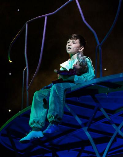 Роль Малыша исполнит юный воспитанник театрального центра «Маленькая Луна» Артем Белобородов