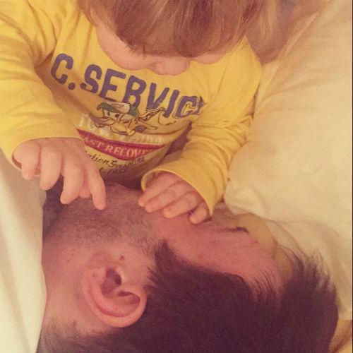 Новости: Беременная Мария Кожевникова показала трогательное фото мужа и сына – фото №2