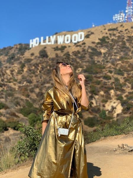 Жанна Бадоева в Голливуде