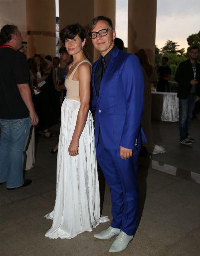 Илья Лагутенко с женой