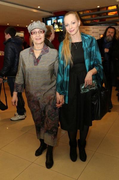 Нина Русланова с дочерью Олесей