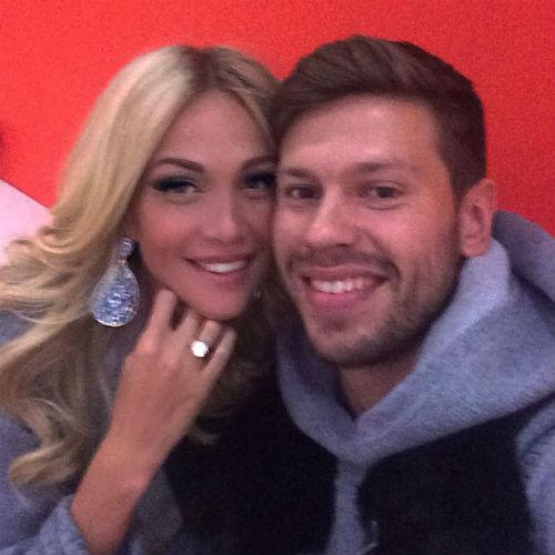 Виктория с мужем Федором Смоловым