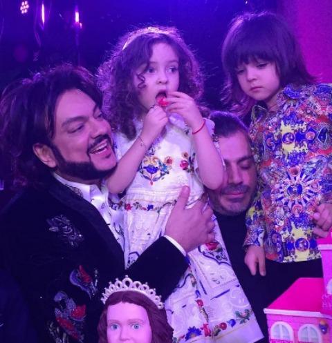 Филипп Киркоров с размахом отмечает день рождения дочери