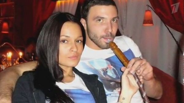 Стелла Барановская с бывшим возлюбленным Максимом Котиным