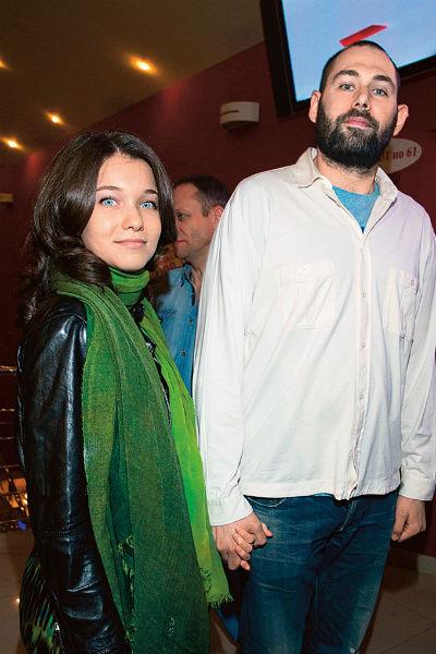 Семен Слепаков с женой Кариной