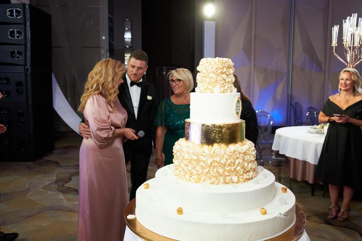 Свадьба Марины и Стефано была довольно скромной