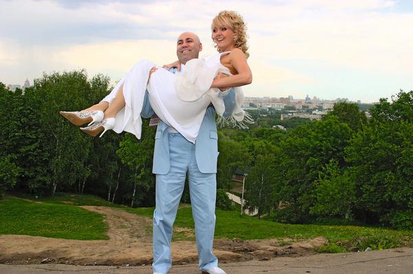 Иосиф и Валерия расписались 5 июня 2004-го, а год назад обвенчались