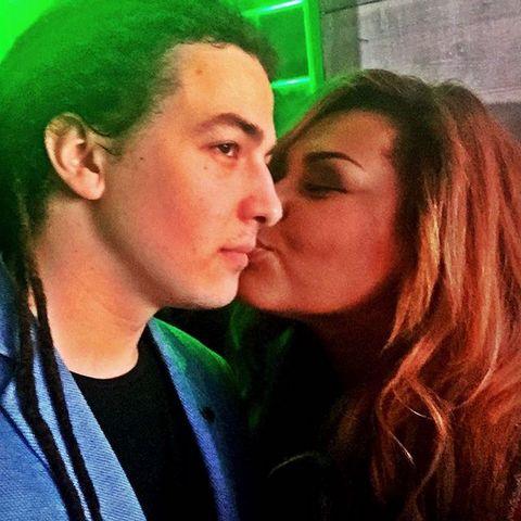 Корнелия Манго со своим будущим мужем Богданом Дюрдем