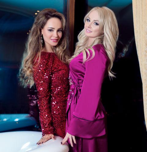 Анна Калашникова и Дарья Пынзарь
