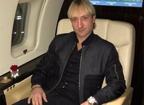 Евгений Плющенко удивил поклонников неожиданным образом