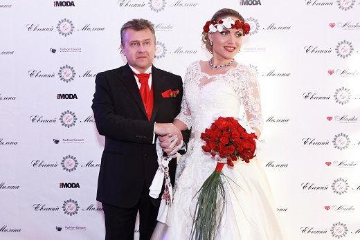 Милена Дейнега вышла замуж за Евгения Самусенко в 2014 году