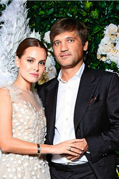 Дарья Клюкина с мужем