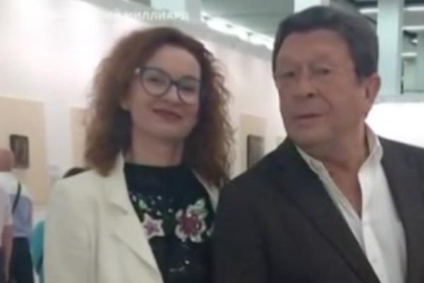 Георгий Мартиросьян и директор артиста Наталья Мамонова