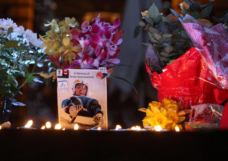 Смерть грузинского спортсмена Нодара Кумариташвили потрясла весь мир