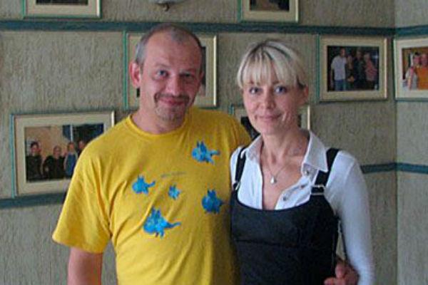 Ольга Аносова и Дмитрий Марьянов