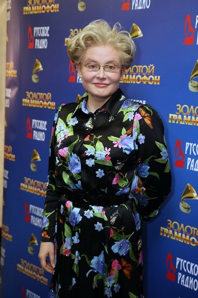 В таком образе Малышева пришла на премию «Золотой граммофон» в 2014-ом