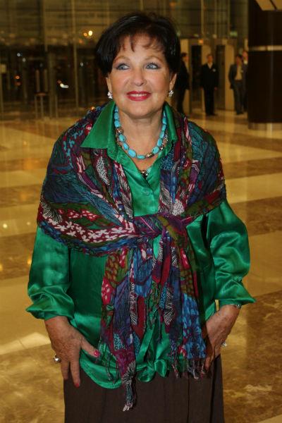 Наталья Фатеева на церемонии премии «Ника» в 2012 году