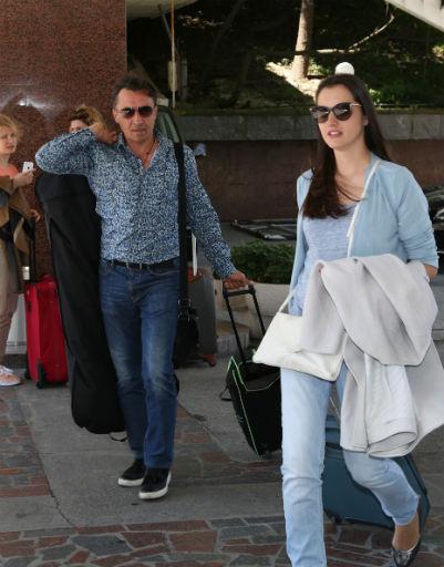 Камиль Ларин с супругой Екатериной