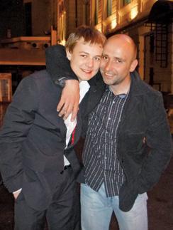 Александр Вьюхин с племянником